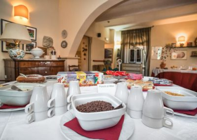 Sala Colazione in Country House in umbria
