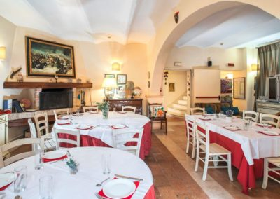 Ristorante presente in Country House in Umbria